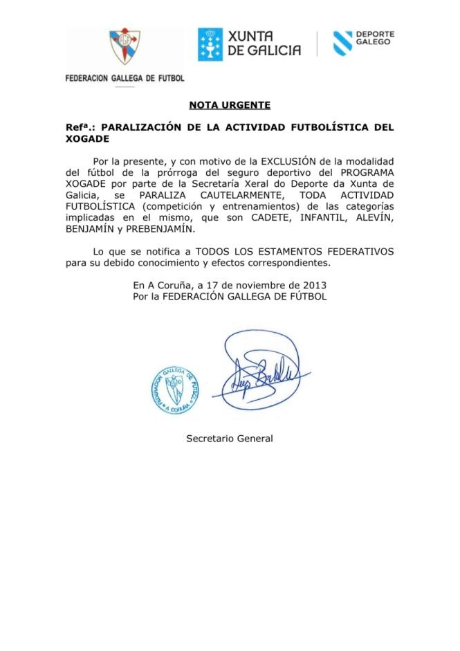 federacion galega de futbol