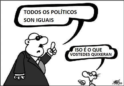 politicos son iguales