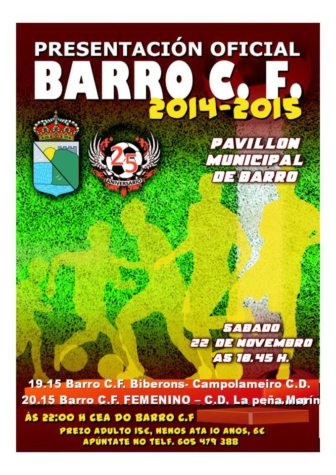 PRESENTACION 2014-15 BARRO C