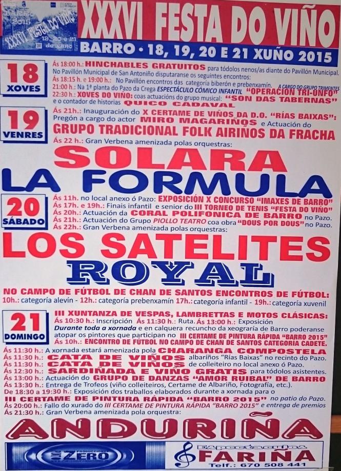 XXXVI FESTA DO VIÑO DE BARRO