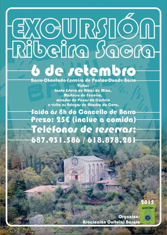 EXCURSION RIBEIRA SACRA