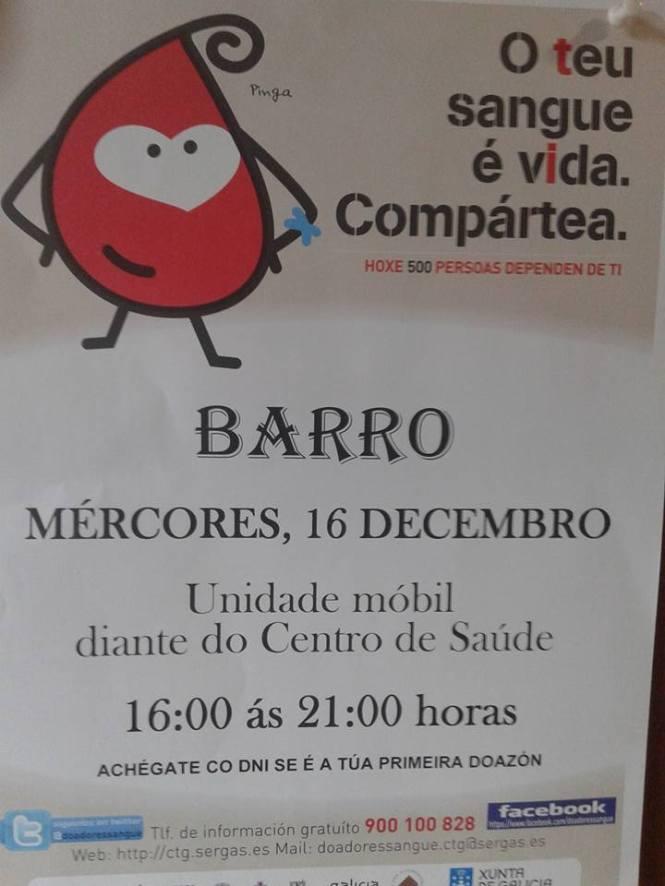 doazon sangue barro