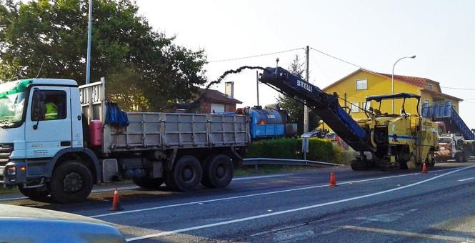 camion obras