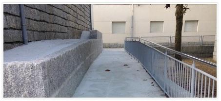 entrada colexio