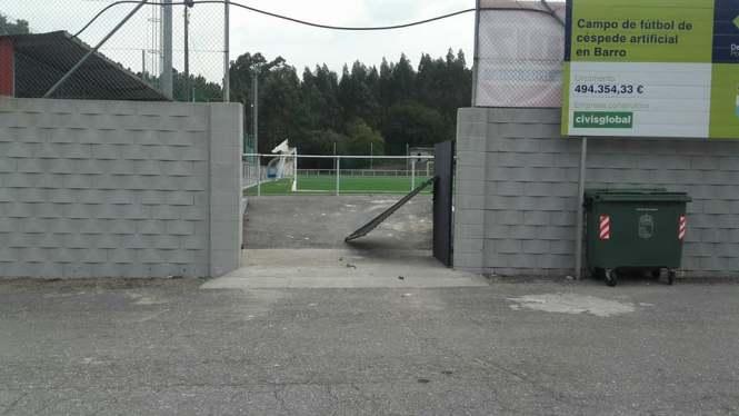 campo futbol barro